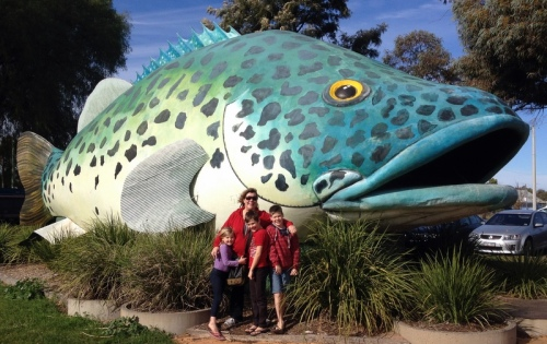 The Big Murray Cod, Swan Hill VIC