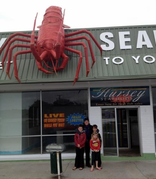 The Big Lobster, Stanley TAS