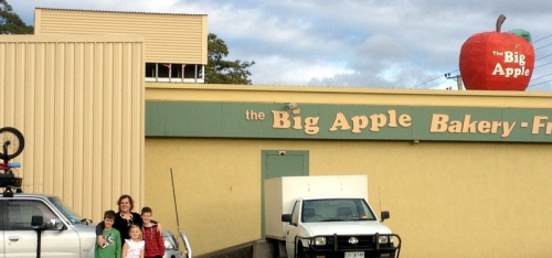 The Big (HA!) Apple, Devonport TAS