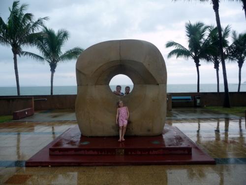 Sculpture at Yeppoon
