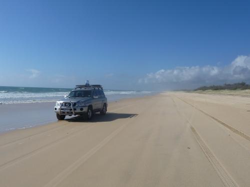 Patricia on 75 mile Beach