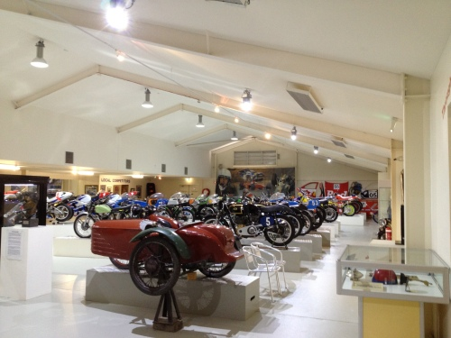 Some of The Motor Museum's collection