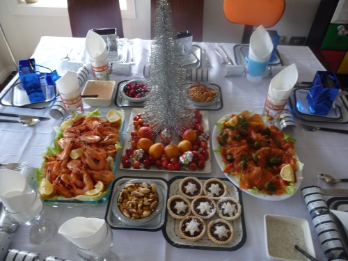 Check out the spread!!