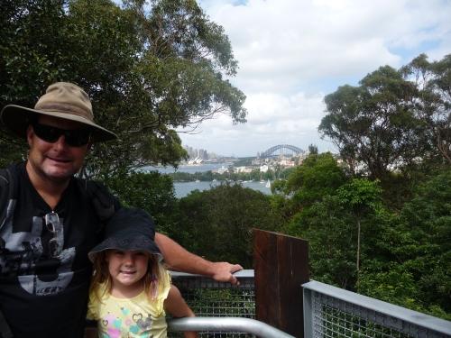 Opera House and Harbour Bridge from Taronga Zoo
