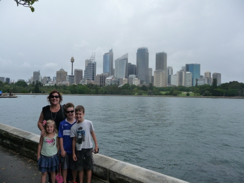 City views from Macquarie Point
