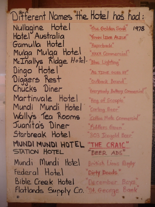 Some of the things filmed at The Silverton Hotel