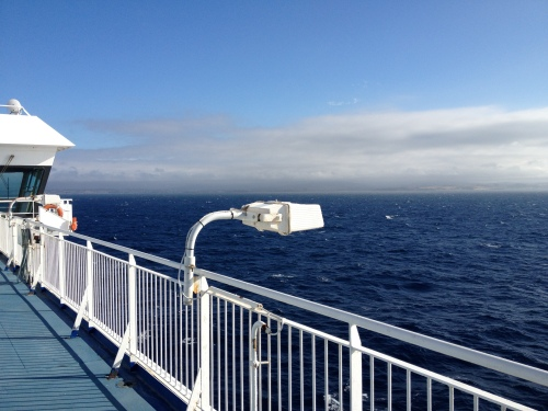 Crossing The Bass Strait