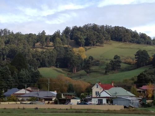 Franlin, a very pretty town