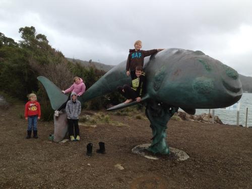 Whale Sculpture