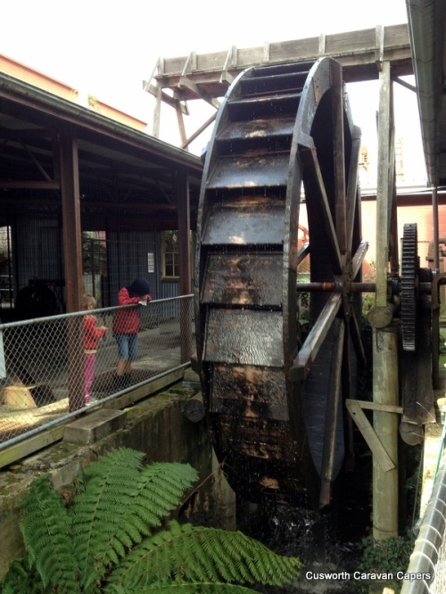 Old mine water wheel
