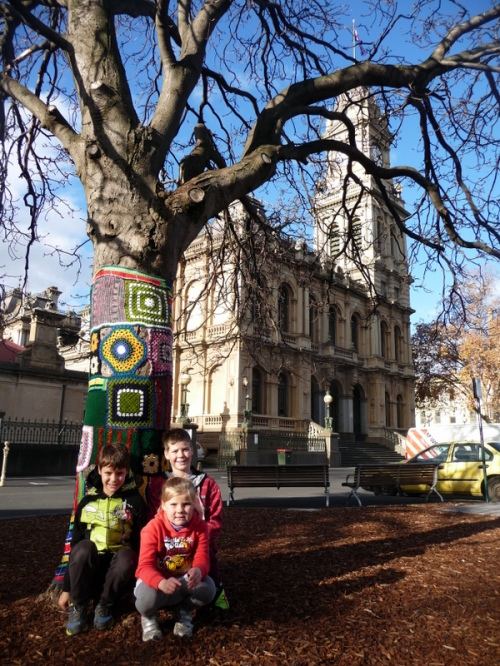 Near Bendigo Clock Tower